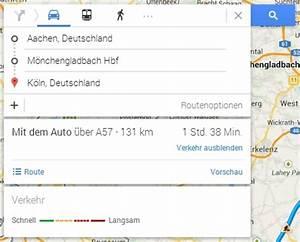Route Berechnen Km : kilometer entfernung berechnen so nutzen sie google maps ~ Themetempest.com Abrechnung