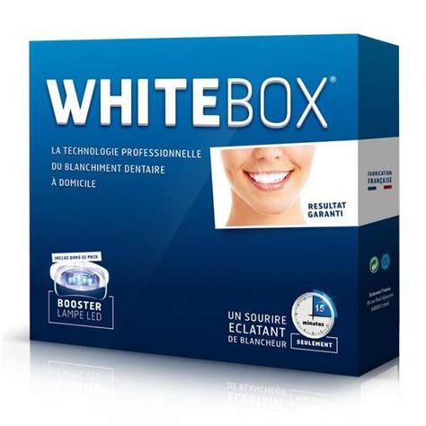 Le Blanchiment Dentaire A Domicile by White Box La Box Pro Du Blanchiment Dentaire 224 Domicile
