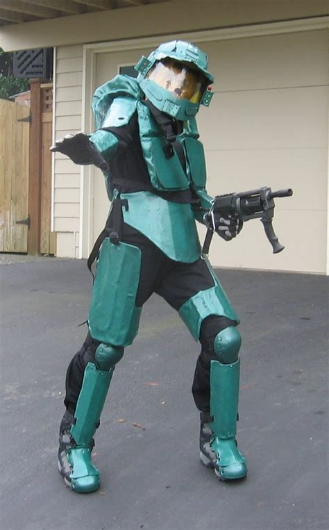 halo  master chief halloween costume  steps
