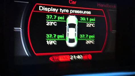 tire pressure monitoring 1990 audi 90 regenerative braking tpms error 2005 audi a6 3 2 youtube