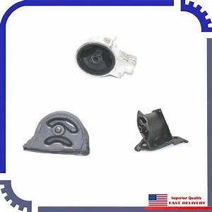 Brand New Dea Engine Motor Mount Set Of 3 Fits 1994