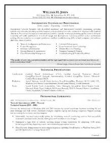 resume information technology manager information technology resume template free excel templates