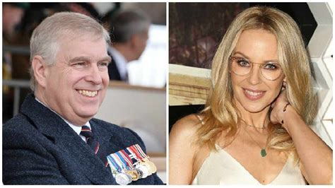 Kylie Minogue rumoured to be 'dating' Prince Andrew - Wire FM