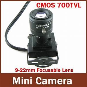 Mini Indoor Camera 9 22mm Manual Lens 1  4 U0026 39  U0026 39  Cmos Hd 700tvl
