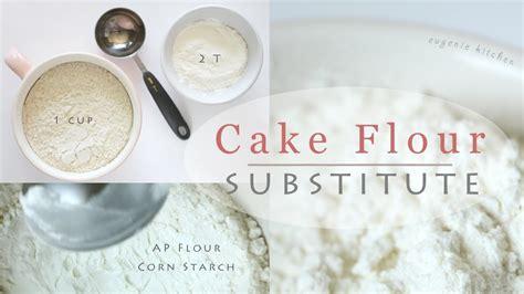cake flour substitute how to make cake flour susbtitute recipe 박력분 만들기 한글자막 youtube