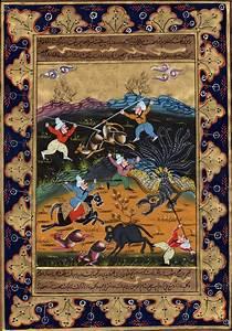 Persian Art Indo Islamic Calligraphy Illuminated