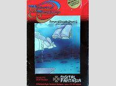Arrow of Death Part I 1983 Atari 8bit box cover art