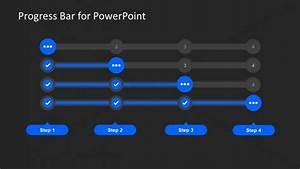Creative Slide Of Progress Diagram