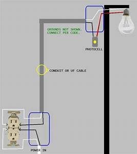 Need Help Wiring Garage Flood Light