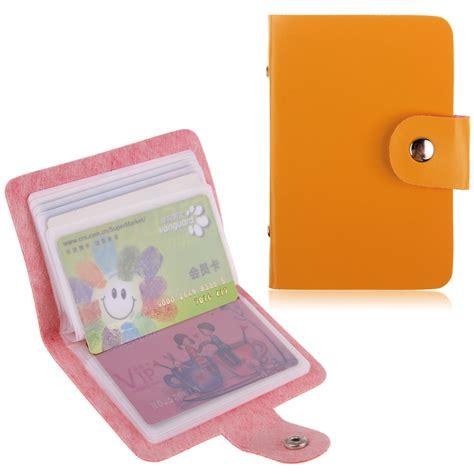 cartes de visite porte cartes sac de rangement de carte de cr 233 dit caisse pocket ebay