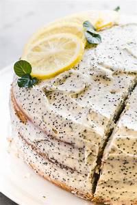 Lemon Layer Cake with Lemon Poppy Seed Buttercream | The ...