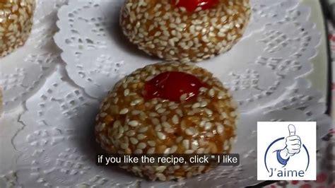 recette de cuisine samira gateau algerien 2013 mchewek aux grains de sesame