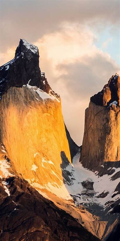 Paine Chile Torres Del National Park Peak