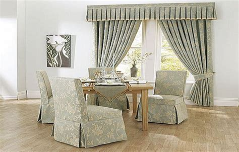 Flower Pattern Dining Room Chair Covers, Dining Room Chair