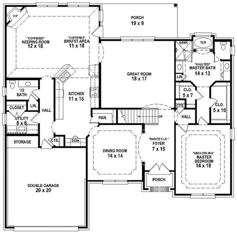 New 3 Bedroom 25 Bath House Plans  New Home Plans Design