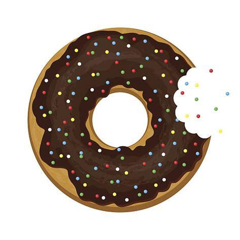 Donut Clipart Doughnut Clipart Half Pencil And In Color Doughnut