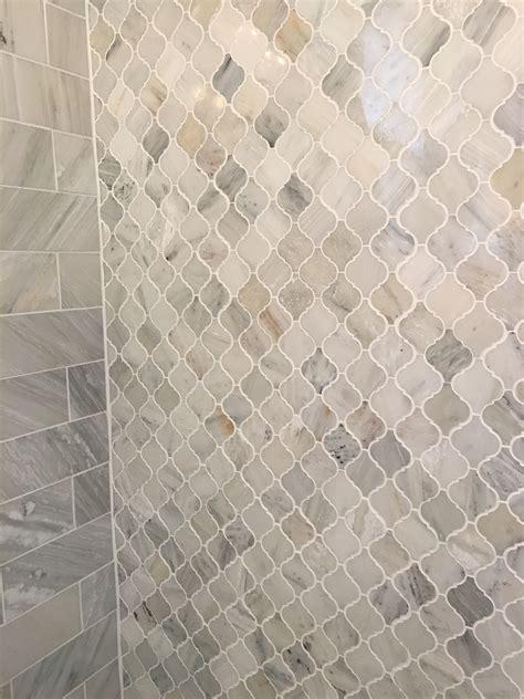 carrara marble arabesque shower tiles bathroom shower