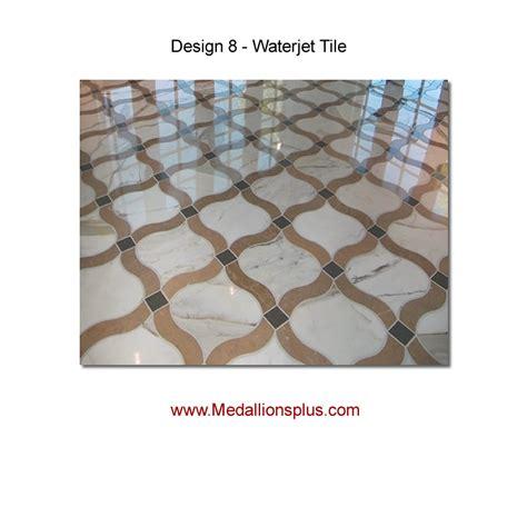 waterjet tile design 8 medallionsplus floor