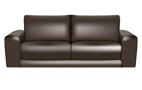 Leather Sofa Clipart