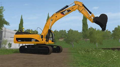 caterpillar  pack   fs farming simulator   mod ls fs  mod