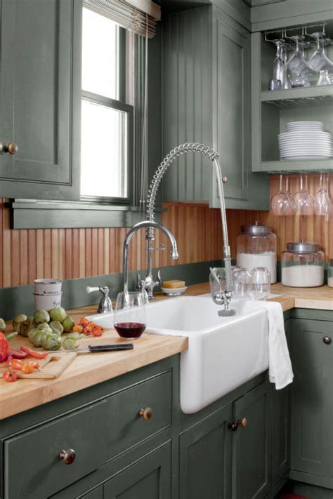 country kitchen green 15 best kitchen color ideas paint and color schemes for 2804