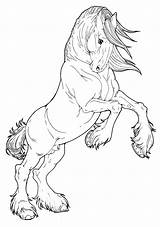 Horse Coloring Draft Pages Adult Sketch Clydesdale Awesome Kolorowanki Horses Printable Paint Konie Zapisano Uploaded User Deviantart sketch template