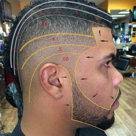 If you are serious about learning how to barber we walk you through step by step. High Fade Haircut Diagram - Hair Styles | Andrew