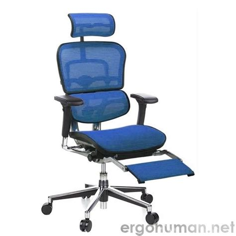 ergohuman chair with legrest furniture reclining