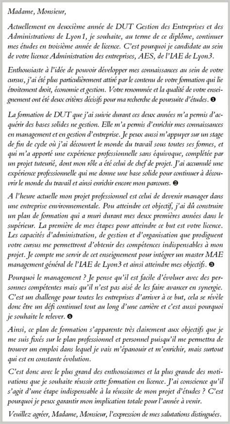 licence pro cuisine lettre de motivation aes contrat de travail 2018