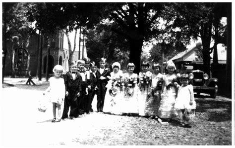 florida memory wedding party   tom thumb wedding