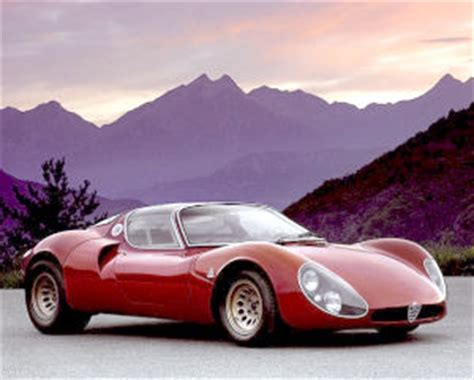 1967 Alfa Romeo 33 Stradale Tipo 33 specifications, carbon ...