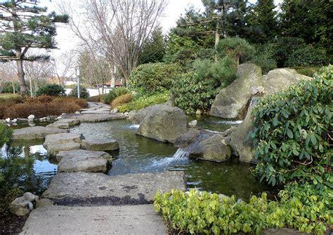 Japanischer Garten Bad Langensalza Thüringen by Japanischer Garten Wasserpfad