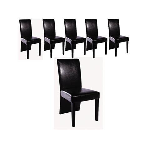 chaise design noir a prix bas destockage
