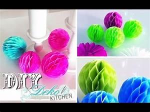 Youtube Deko Selber Machen : diy wabenb lle f r party deko einfach selber machen deko kitchen youtube ~ Buech-reservation.com Haus und Dekorationen
