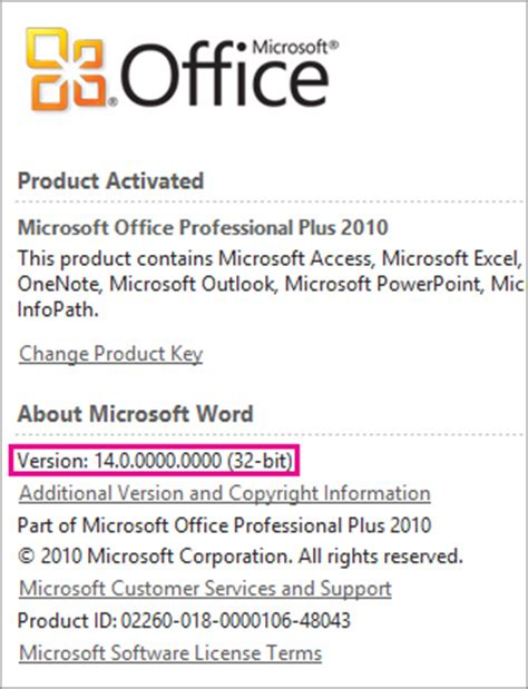 Office Version Numbers by Office 365 Choosing 32 Or 64 Bit College Of Education