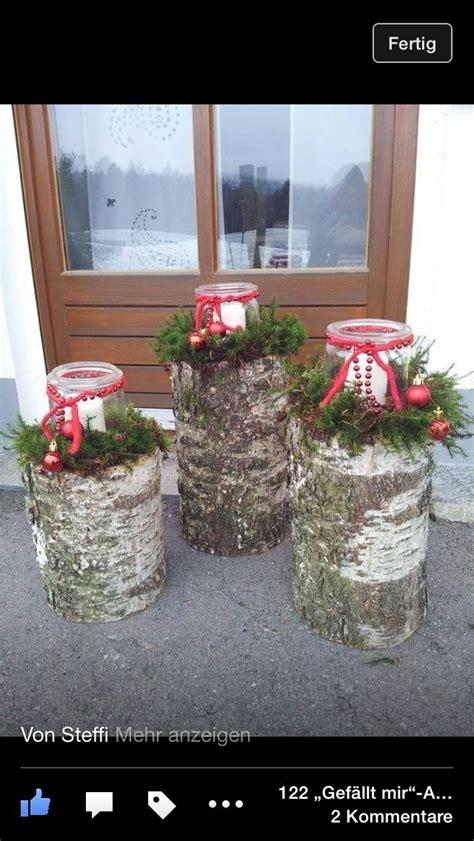 Weihnachtsdekoration Außenbereich by Windlichter Weihnachtsdeko Boże