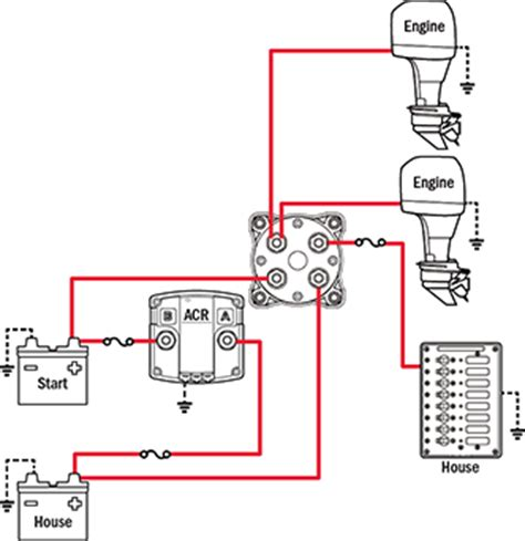 3 Position Marine Battery Switch Wiring Diagram by Acr And Dual Battery Switches Page 3 The Hull