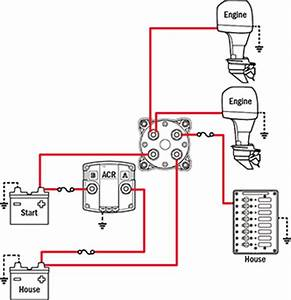 Battery Switch Wiring Diagram Two Engine