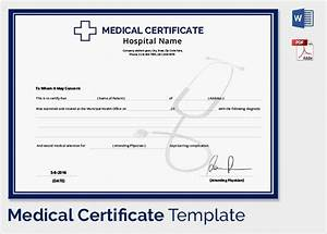 Hospital Medical Certificate Format 33 Useful Medical Certificates To Download Sample Templates