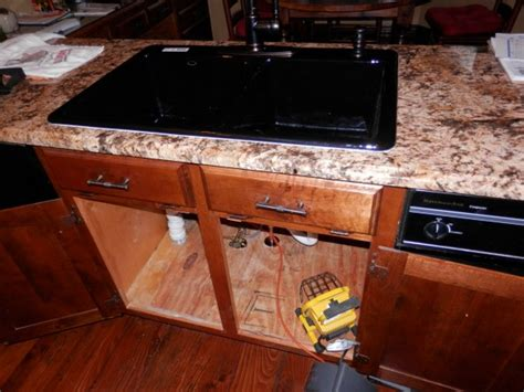 how to remove a kitchen sink how to remove cast iron kitchen sink on tile plumbing