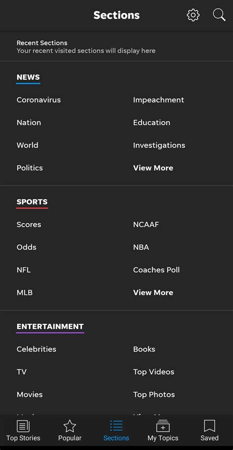 USA Today 6.1.1 - Baixar para Android APK Grátis