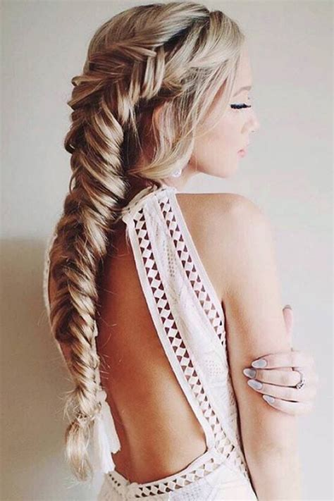 25 Best Ideas About Loose Fishtail Braids On Pinterest