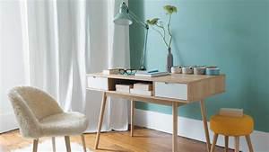 quelles couleurs associer avec des meubles en bois clair With couleur pastel pour salon 6 un salon vintage le blog deco de maisons du monde