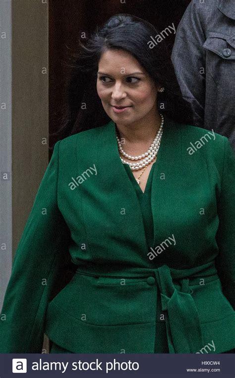 London, UK. 10th January, 2017. Priti Patel MP, Secretary ...