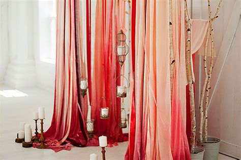 10 Creative Ways to Use Fabric in Your Wedding Green