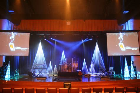 christmas stage decorations thoughts on decor huggsblog