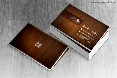 wood business card template business cards templates
