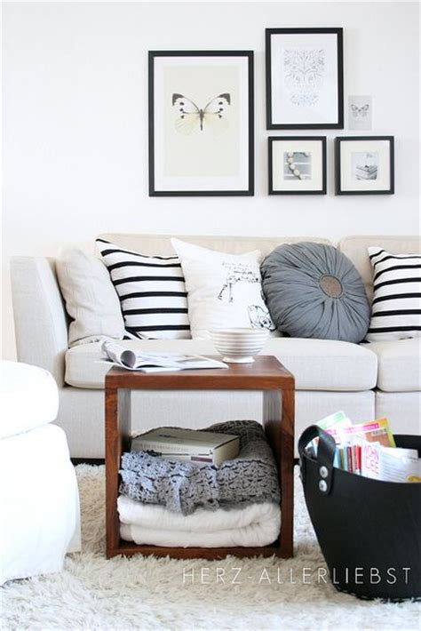Brown Living Room Ideas Pinterest by 6 Interior Ideas That Prove Black And White Isn T Boring