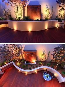spots encastrables exterieur sur la terrasse sol en bois With spot eclairage arbre exterieur 5 jardinsurbains eclairage jardin