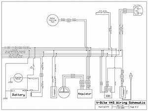 Need Wiring Diagram For Vbike 250 V4s
